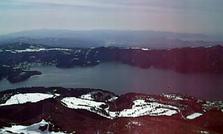 駒ヶ岳山頂から…