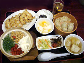 中華粥セット
