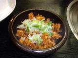 鶏の軟骨の炒め物