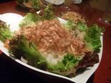 新たまねぎのサラダ