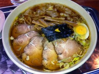 「昭島 大勝軒」チャーシュー麺 大盛