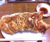 大きな餃子!!