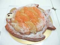オレンジたっぷりの魚