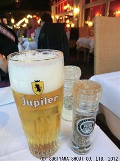 ベルギービール「Jupiler」